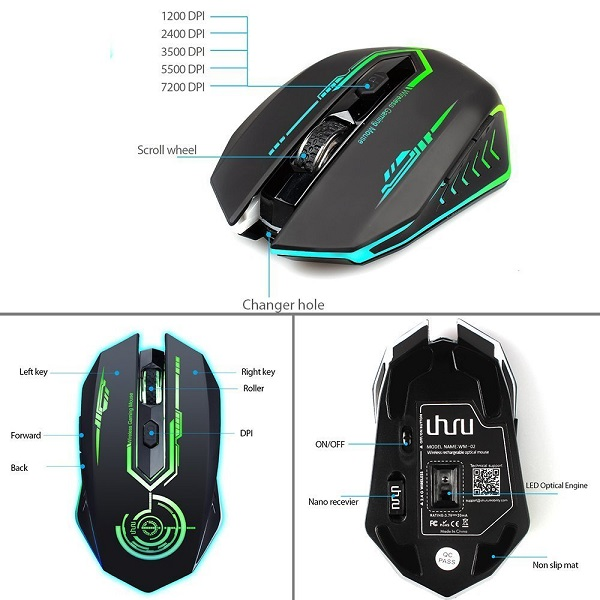 e8bd3b2fb13 Wireless Gaming Mouse- UK